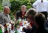 Grill-Party bei Sylvia